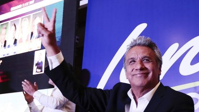 purtret dal candidat dal presidi da l'Ecuador, Lenin Moreno
