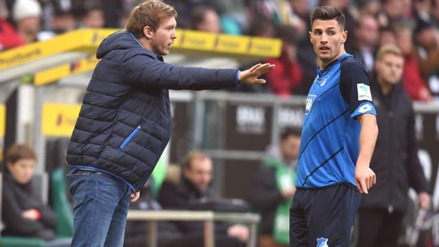 Fabian Schär spricht mit seinem Ex-Coach