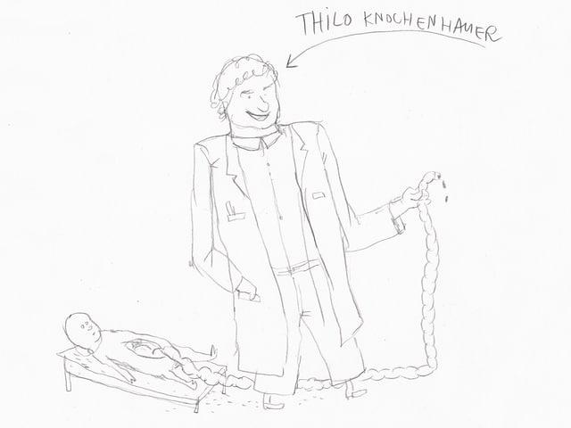 Abteilungsarzt Dr. Thilo Knochenhauer.