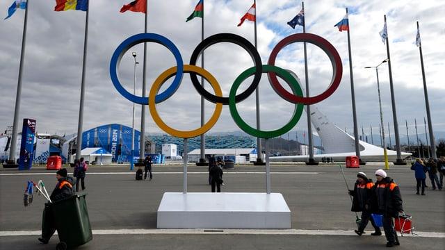 Die Olympischen Winterspiele 2014 in Sochi.