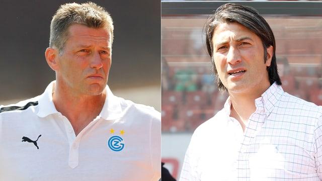 Michael Skibbe und Murat Yakin blicken auf einen geglückten Saisonstart zurück.