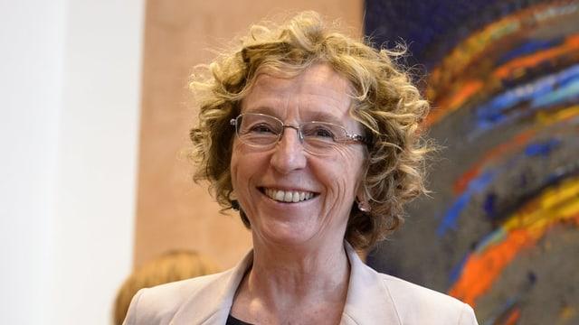 Portrait von Frankreichs Arbeitsministerin Muriel Pénicaud