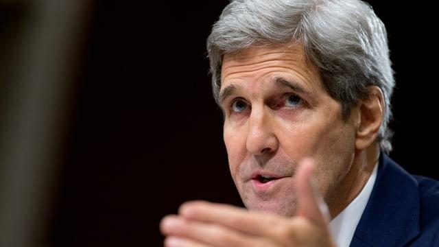 Il minister da l'exteriur american, John Kerry.