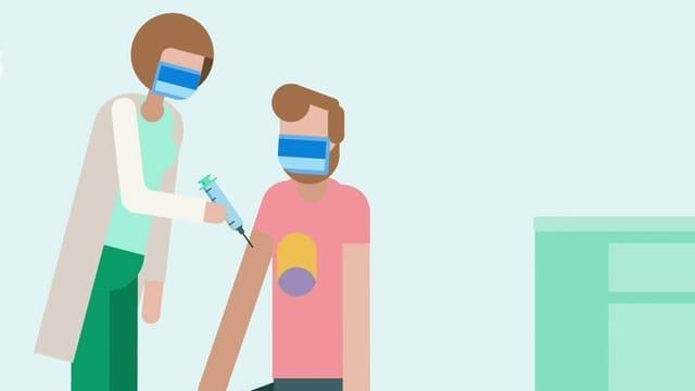 Illustration Impfung