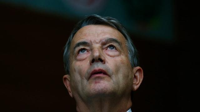 L'anteriur president dal DFB Wolfgang Niersbach.
