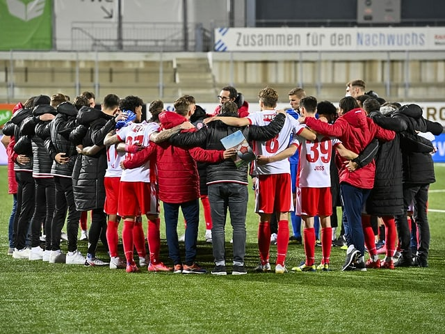 Die Spieler des FC Thun wollen in Sion die grosse Wende erzwingen.
