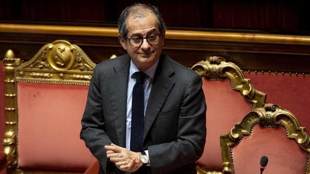 Wirtschaftsminister Giovanni Tria