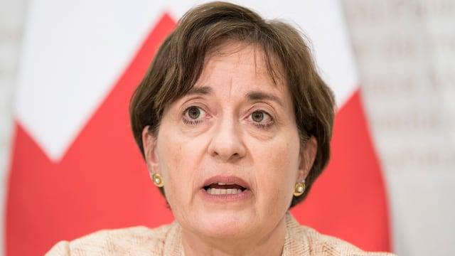 Barbara Schüpbach-Guggenbühl, chanceliera chantunala dal chantun Basilea Citad.