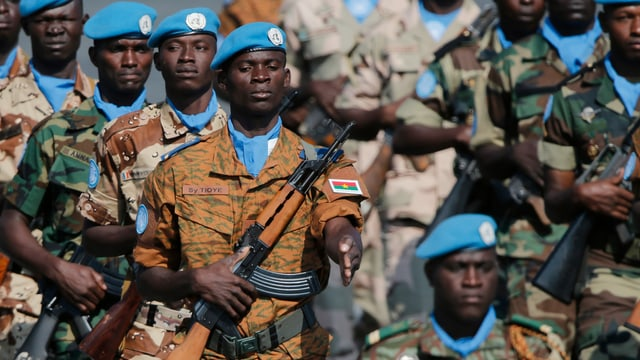 Truppen der UNO-Mission Minusma. (reu)