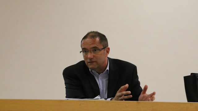 Sievi Sgier, il president communal d'Andiast.