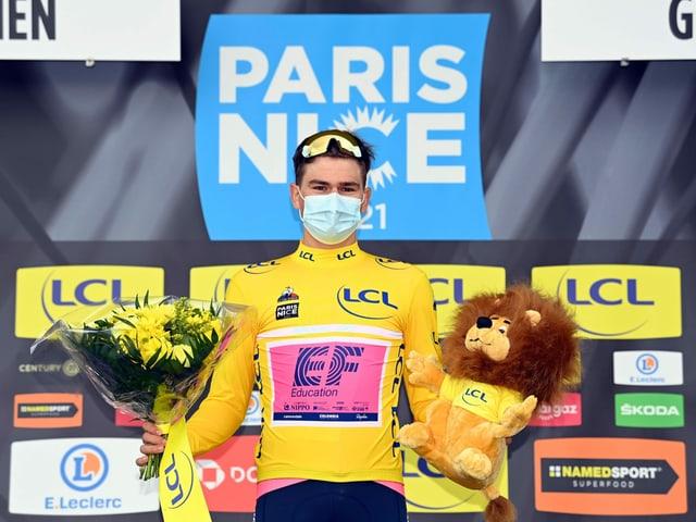 Stefan Bissegger fuhr bei Paris - Nizza ins Rampenlicht.