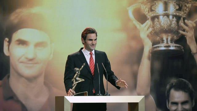 Roger Federer, Sportler des Jahres 2014