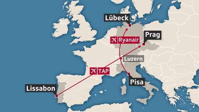 Europakarte.