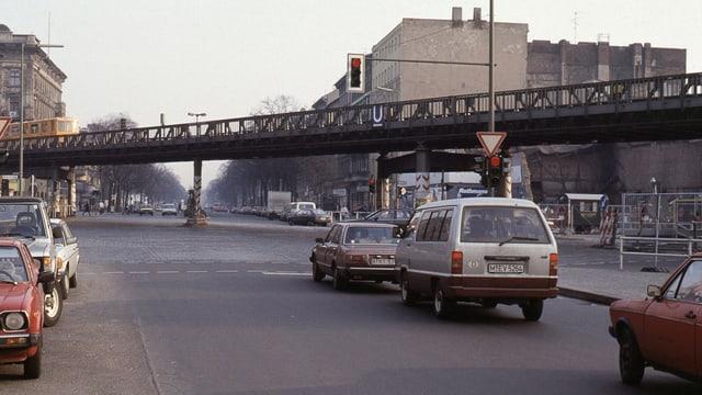 Blick in die Wiener Straße, 1988