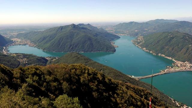Monte San Giorgio im Tessin.