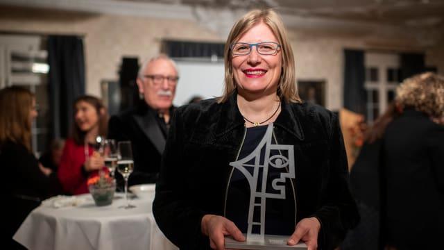 Natalie Urwyler cun premi.
