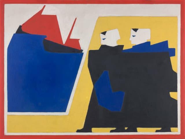 Bart van der Leck: Der Sturm, 1916.