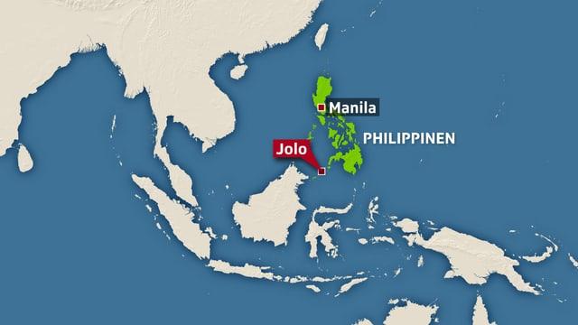Karte Jolo