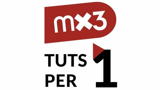 Mx3 – tuts per in