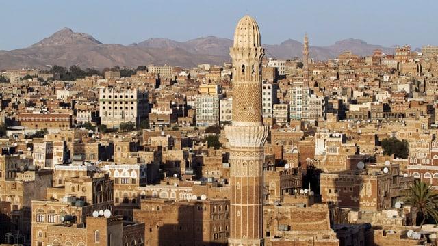 Blick auf die Altstadt von Sanaa. das Bild stammt von 2012. (reuters)