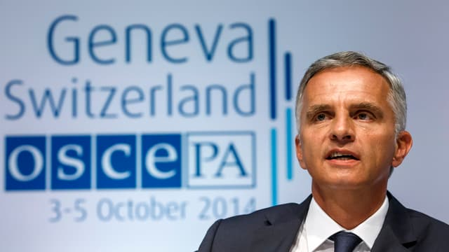Burkhalter beim OSZE-Treffen in Genf