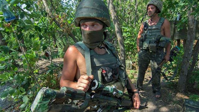 Ukranische Soldaten