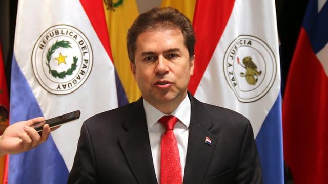 Paraguays Aussenminister Luis Castiglioni