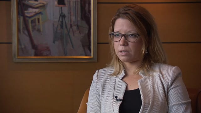 Glencore-Konzernjuristin Marie Roth