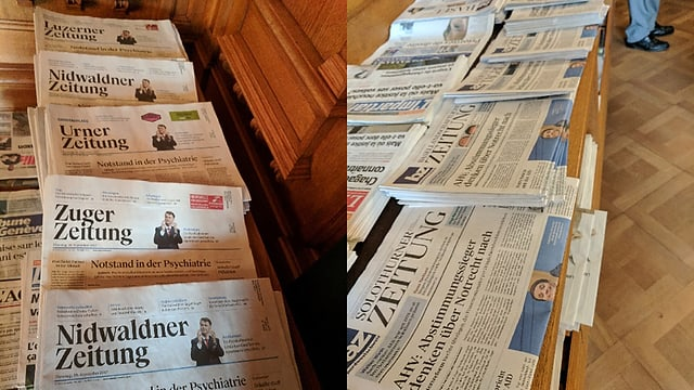 Video «Ausgeholzter Blätterwald - wer investiert noch in Journalismus?» abspielen