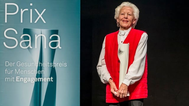 Ursula Tarnutzer a la surdada dal Prix Sana.