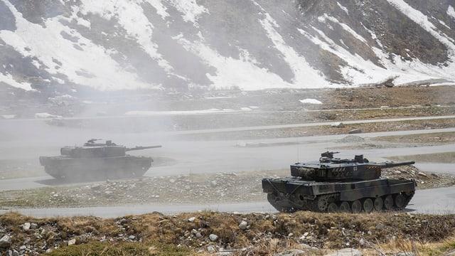 Zwei Panzer