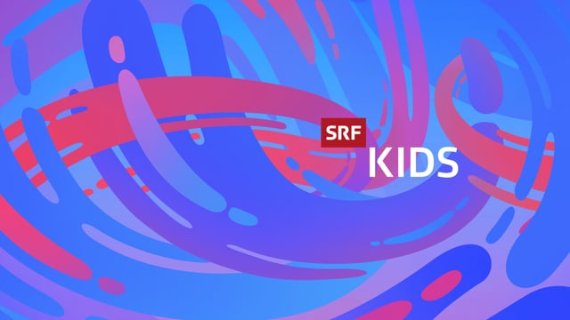 Farbiges Logo von SRF Kids dem Kinderprogramm von SRF