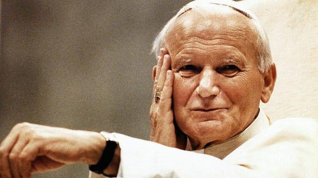 Papst Johannes Paul II. im Mai 1999.