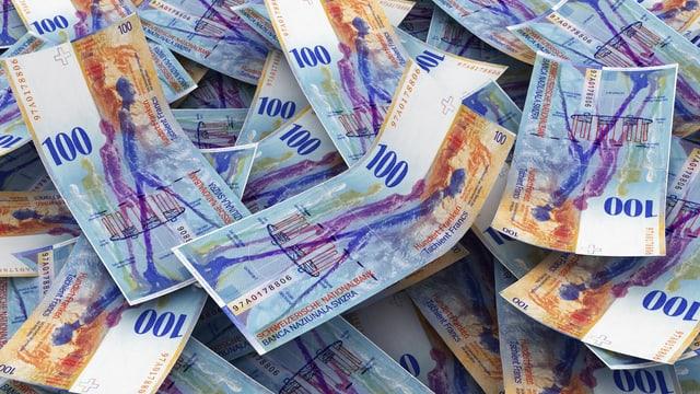 Geld, 100er Noten