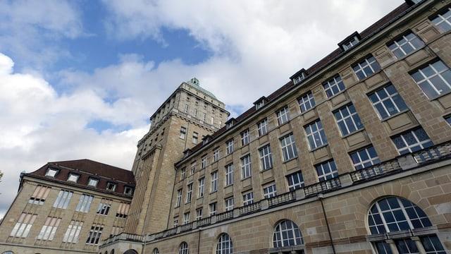 Das Gebäude der Universität Zürich.