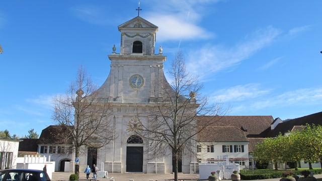 Das Kloster Mariastein ist einer der Etappenorte auf der «Via Surprise».