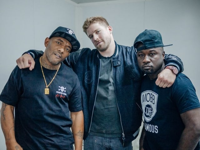 «We're rebels.» Mobb Deep bei Mauro Wolf.