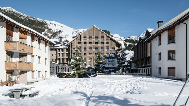 L'hotel Chedi ad Andermatt.
