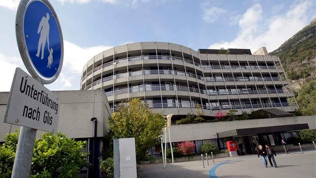 Spital Brig, Aussenansicht