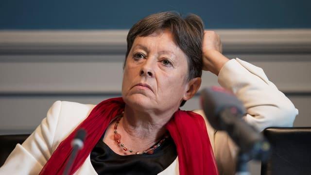 Berner SP-Nationalrätin Margret Kiener Nellen