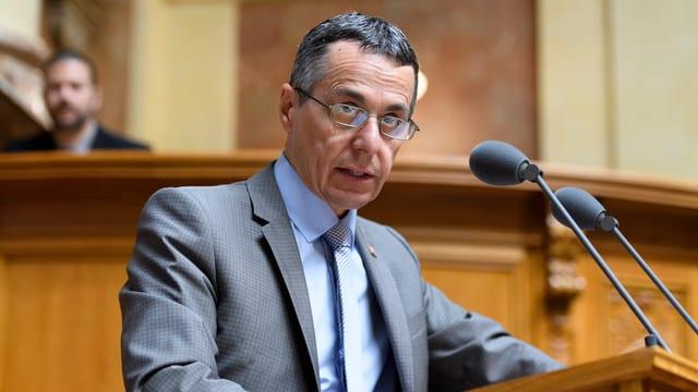 Cusseglier federal Ignazio Cassis