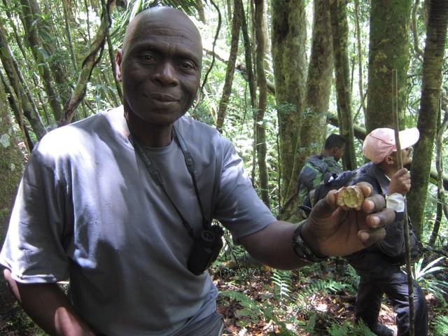Ranger Désiré Rabary im Marojejy Nationalpark.