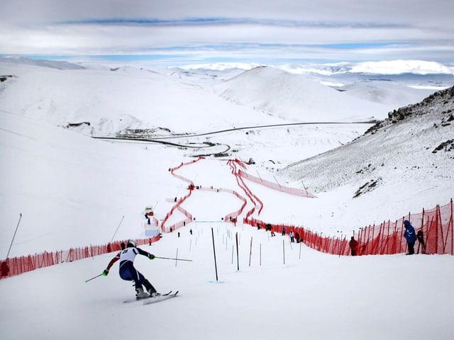 Szene von der Winter-Universiade 2011.