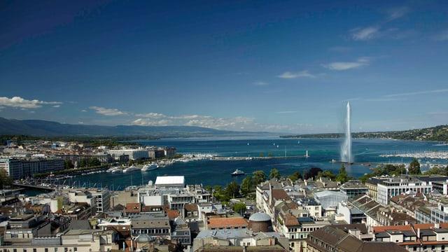 Blick über Genf