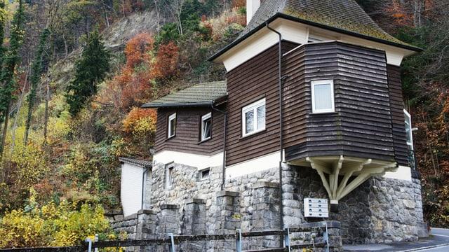 Die alte Talstation.