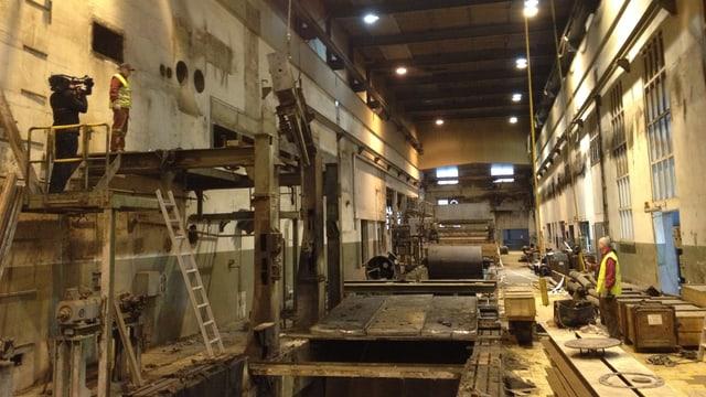 Einblick in die Industriebrache