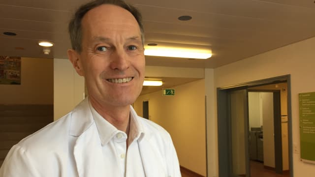 Roger Lauener Chefarzt des Ostschweizer Kinderspitals.