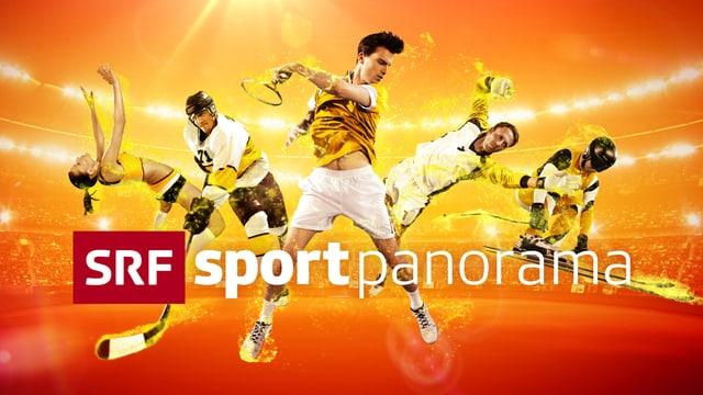 Del Ponte im «sportpanorama»
