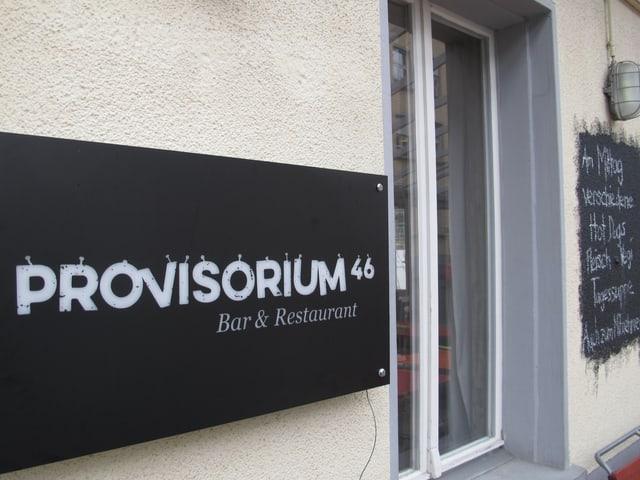 Eine normale Quartierbeiz will das «Provisorium 46» sein