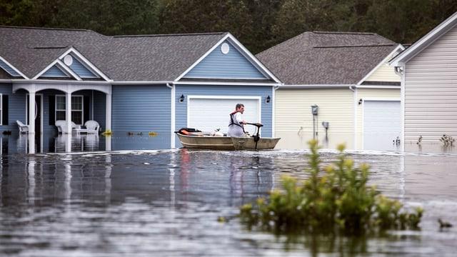 Chasas inundadas